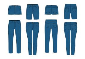 Free Blue Jeans Vector