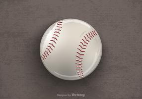 Free Drawn Baseball Vector Illustration