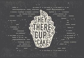 Free Hand Drawn Sweet Cupcake Background