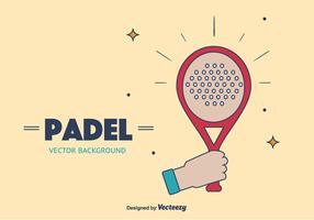 Padel Vector Background