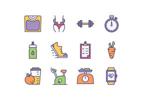 Free Diet Program Icons