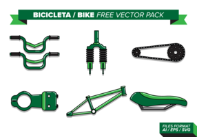 Bicicleta Fahrrad kostenlos Vektor Pack