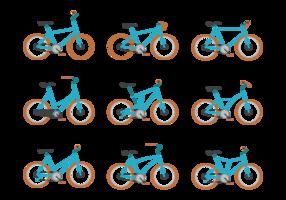 Bicicleta Vektor