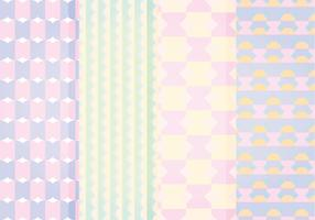 Vector Pastel Geometric Patterns