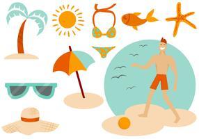 Free Beach Summer Vectors