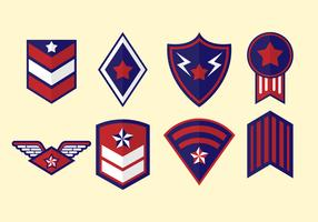Free Military Badge Vector