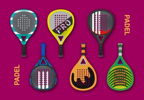 Free Padel Vector Illustration