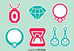 Jewelry NIce Icons Vector