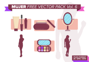 Mujer Free Vector Pack Vol. 6
