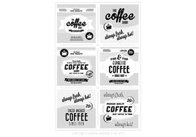 Vintage Coffee Logos Vector