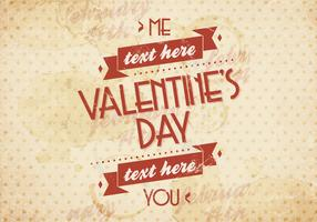 You and Me Valentine's Day Vector