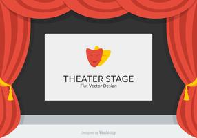 Theater Stage Vector Design