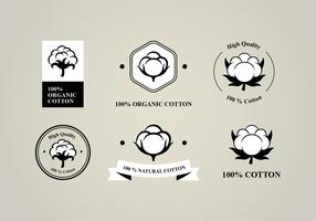 Six Flat Cotton Flower Logo