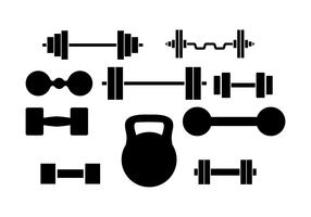 Free Dumbell Vector