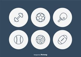 Free Sport Line Vector Icons