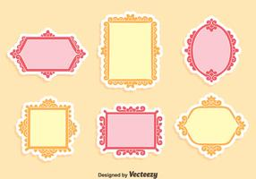 Floral Decoration Frame Vector