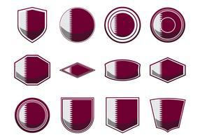 Free Qatar Flag Icon Vector