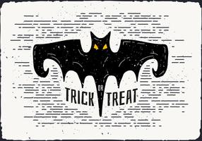 Free Halloween Bat Vector Illustration
