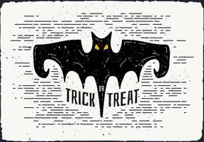 Free Halloween Bat Vector Illustration