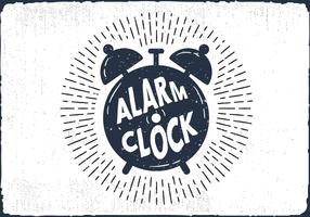 Free Hand Drawn Alarm Clock Background