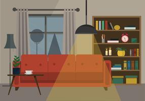 Ilustración vectorial Salón