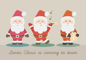 Vector Santa Claus Illustration