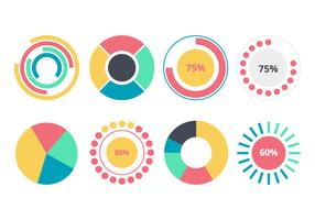 Free Pie Chart Infographic Element