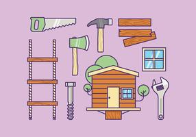 Free Treehouse Supply Kit Vector