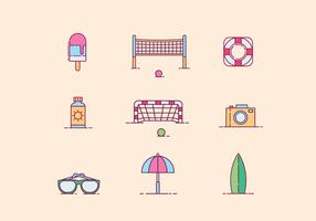 Free Beach Activity Vector