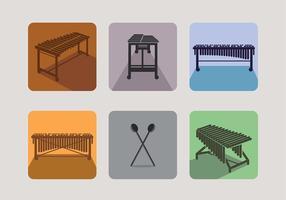 Marimba Icon Vector Free