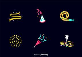 Free Party Favours Vector Icons