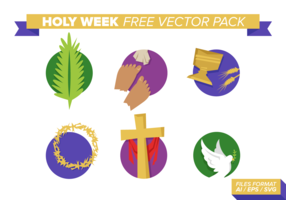 Holy Week Free Vector Pack