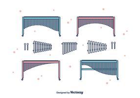 Marimba Vector Set