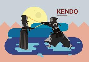 Free Kendo Illustration