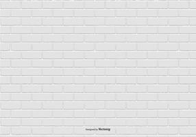 White Brick Pattern Background