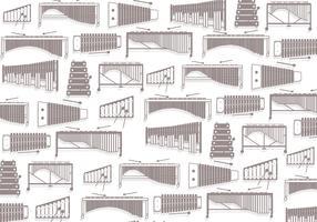 Marimba Pattern Vector