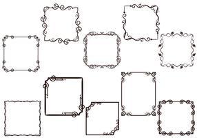 Free Frames Vectors