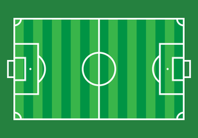 Football Ground Vector