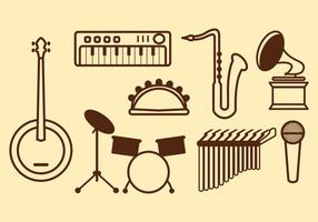 Free Music Vector Icon