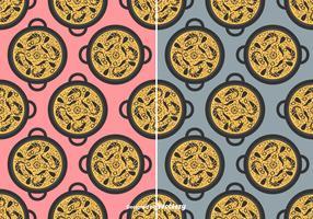 Paella Vector Pattern
