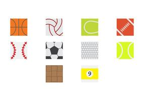 Free Sport Ball Surface Icon Vector
