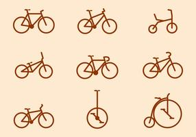 Free Bicycle Vector Collections