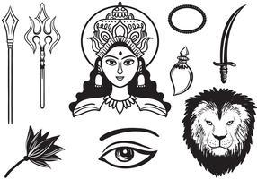 Free Durga 2 Vectors