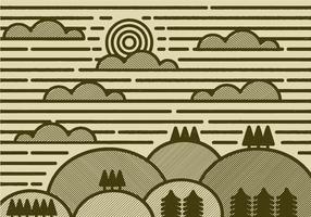 Minimal Landscape Vector