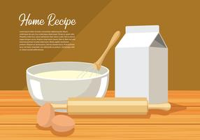 Mixing Bowl Free Vector