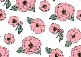 Beautiful Camellias Pattern