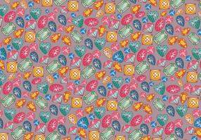 Rhinestone Background Colorful Vector