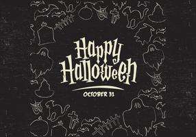 Vector de la frontera de Halloween