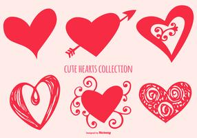 Cute Heart Shapes Collection