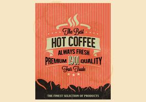 Premium Quality Coffee Vector